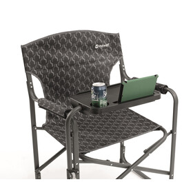 Outwell Chino Hills - Siège camping - with Side Table noir